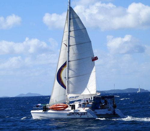 CATALYST Yacht Charter - Ritzy Charters