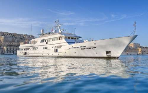 SANSSOUCI STAR Yacht Charter - Ritzy Charters