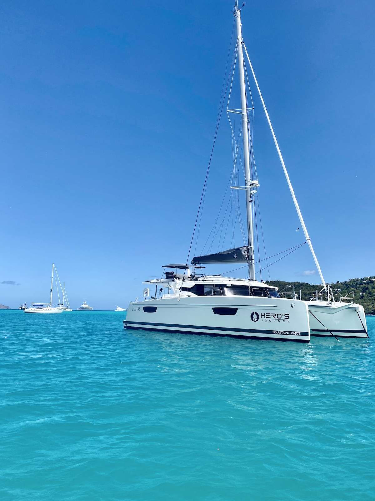 HERO'S JOURNEY Yacht Charter - Ritzy Charters