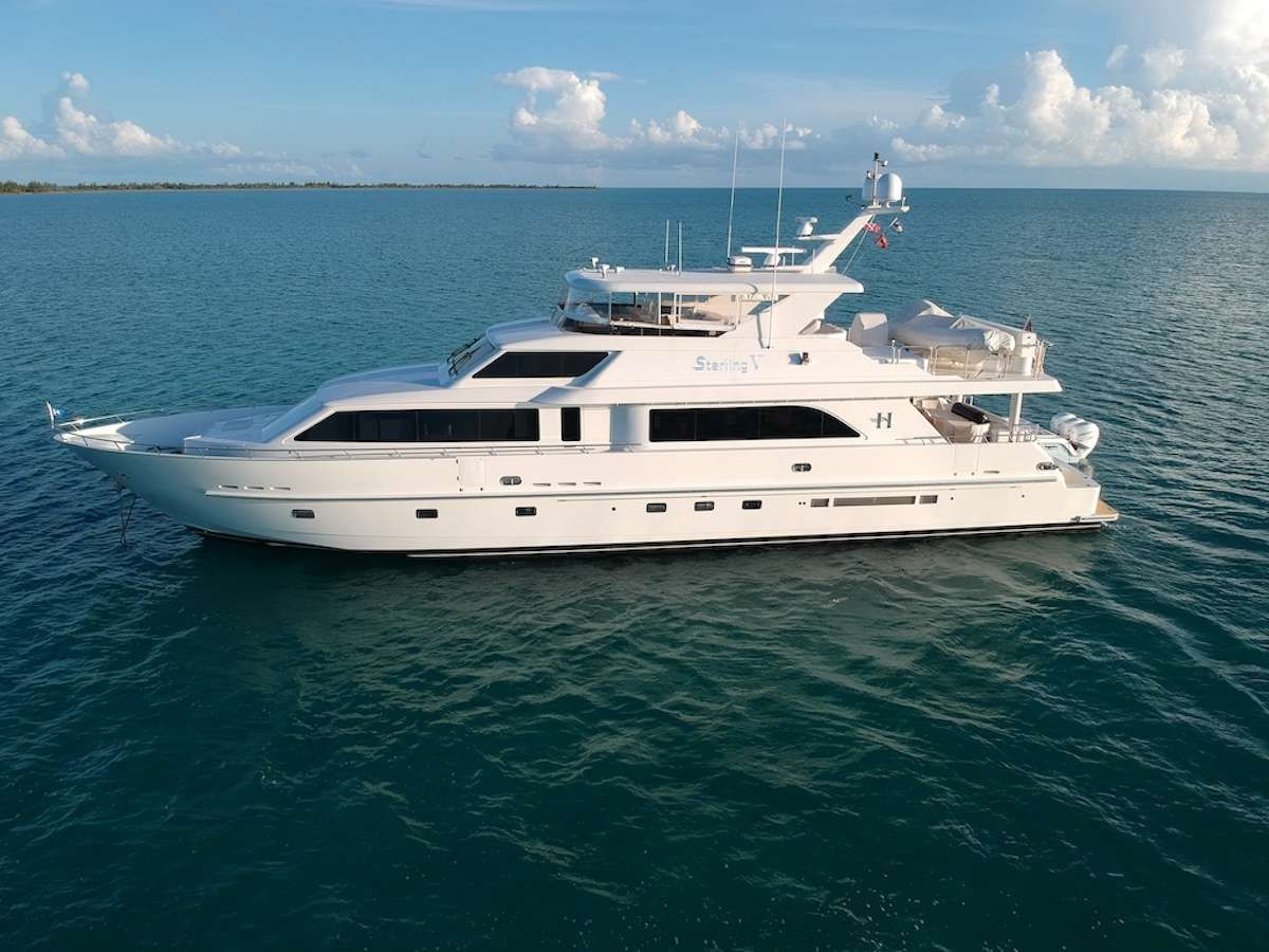 STERLING V Yacht Charter - Ritzy Charters