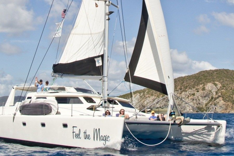 FEEL THE MAGIC Yacht Charter - Ritzy Charters