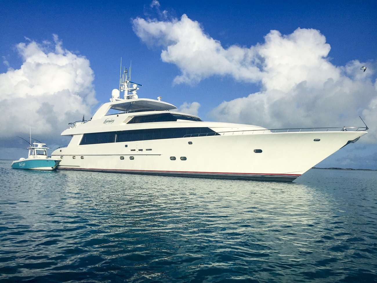 LEGENDARY Yacht Charter - Ritzy Charters