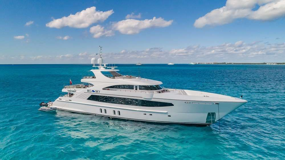 BIG SKY Yacht Charter - Ritzy Charters