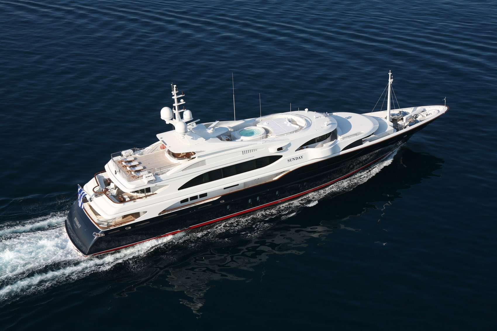 SUNDAY Yacht Charter - Ritzy Charters