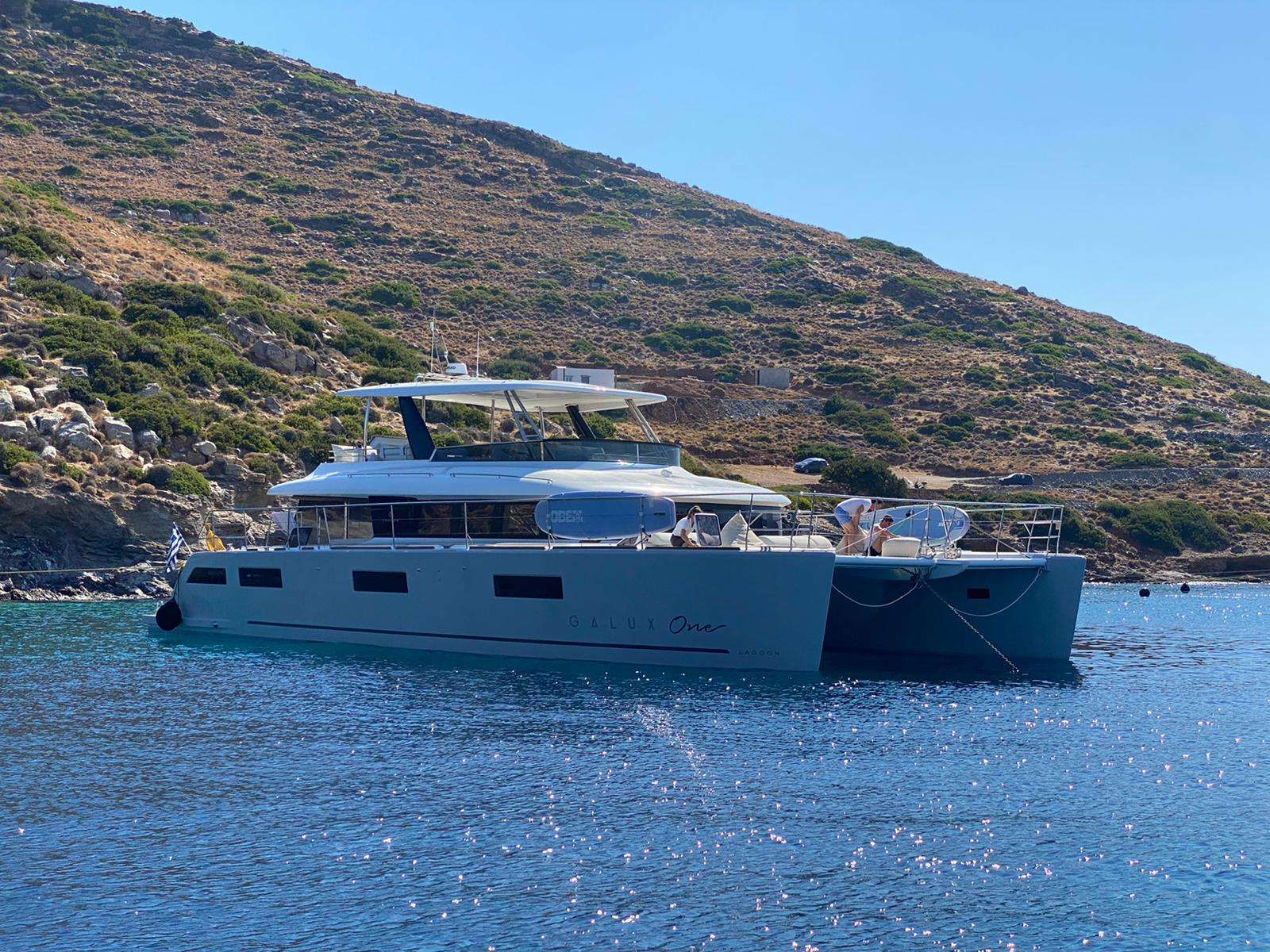 GALUX One Yacht Charter - Ritzy Charters