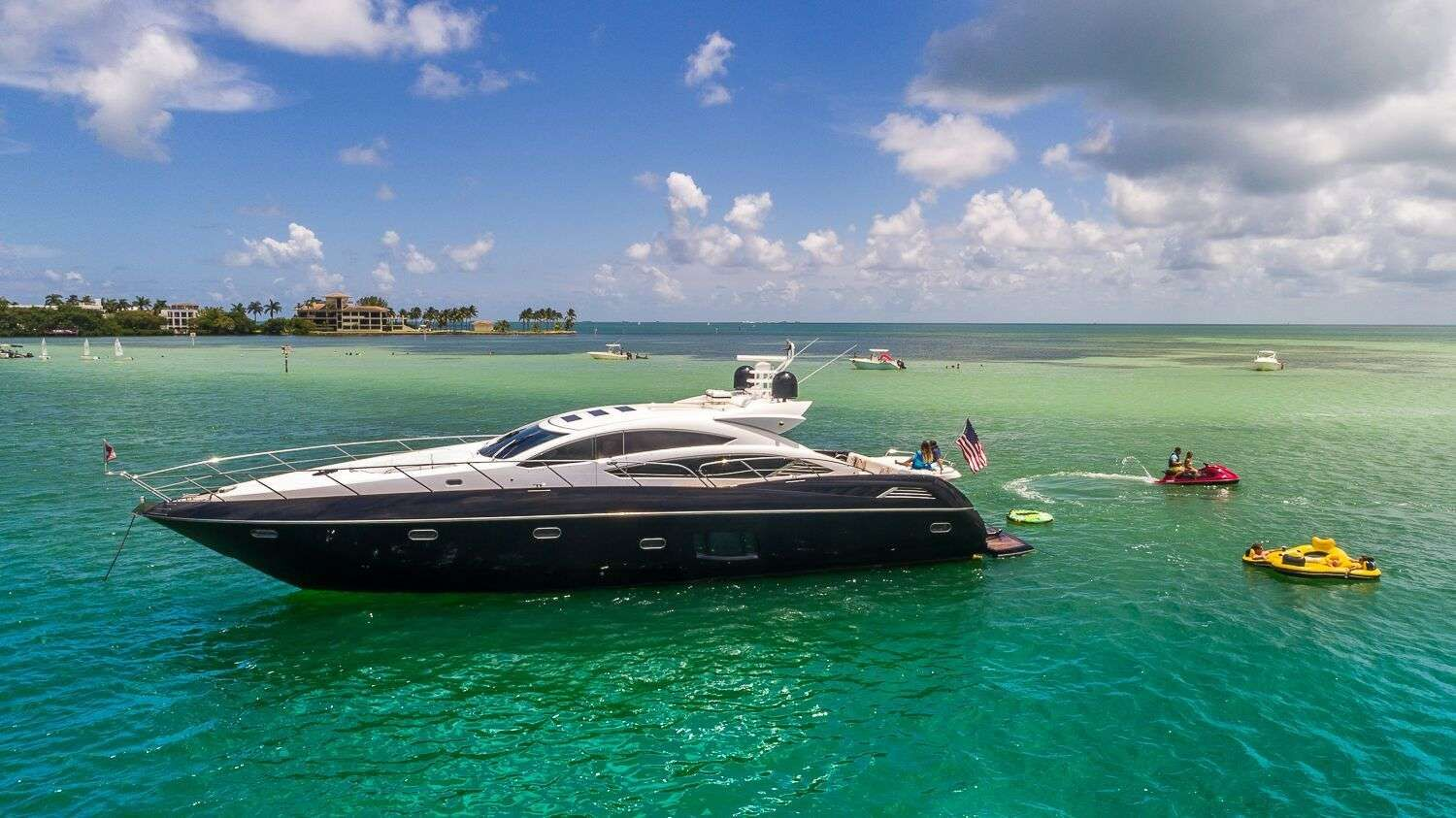 ALL IN Yacht Charter - Ritzy Charters