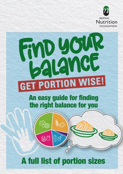 Find your balance. Get portion wise!