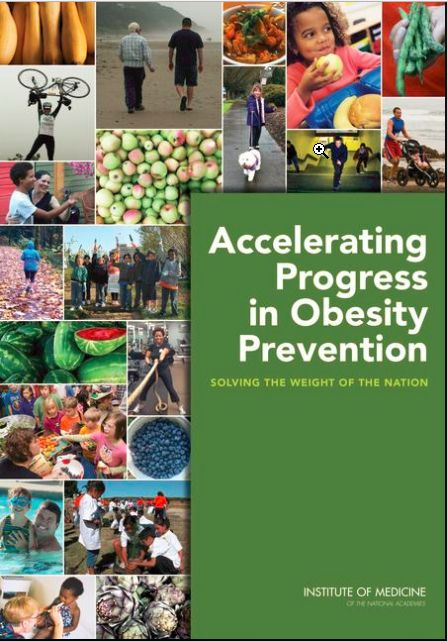 Accelerating Progress in Obesity Prevention: Solving the Weight of the Nation
