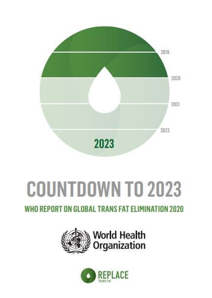Countdown to 2023: WHO report on global trans-fat elimination 2020