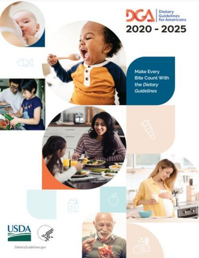Dietary Guidelines for Americans 2020-2025