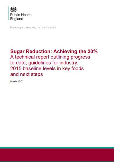 Sugar Reduction: Achieving the 20%