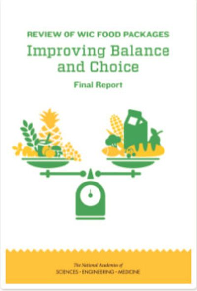 Review of WIC Food Packages: Improving Balance and Choice. Final Report