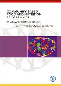 Community-based food and nutrition programmes