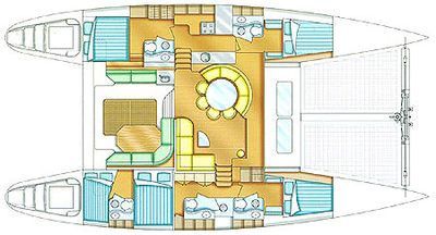 Yacht Charter SOTERION Layout