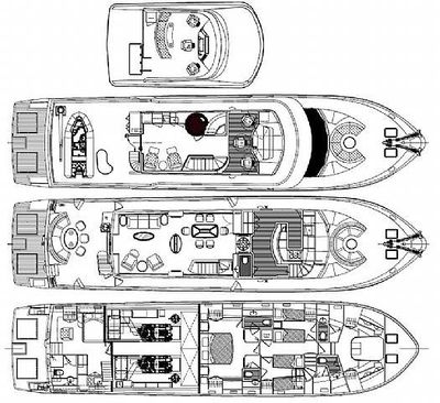 Yacht Charter MAGICAL DAYS Layout