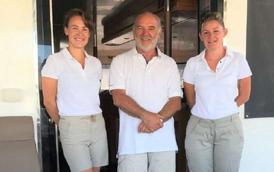 Yacht Charter MOBY DICK Crew
