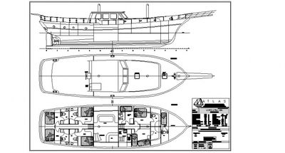 Yacht Charter Serhat Bey Layout