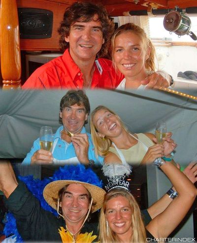 Yacht Charter VISION Crew