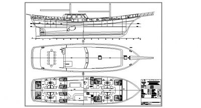 Yacht Charter ECE SULTAN Layout