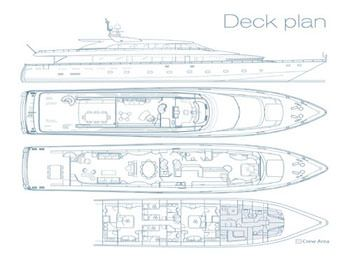 Yacht Charter LET IT BE Layout