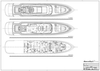 Yacht Charter MY TOY Layout