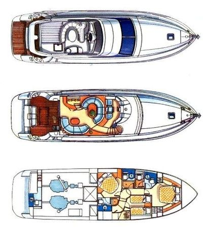 Yacht Charter HARRYLOU Layout