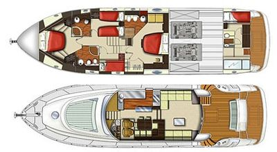 Yacht Charter GEORGE V Layout