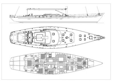 Yacht Charter DHARMA Layout