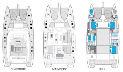 Yacht Charter MAVERICK Layout