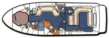 Yacht Charter SUNDANCER Layout
