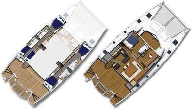 Yacht Charter SOMETHING WONDERFUL Layout