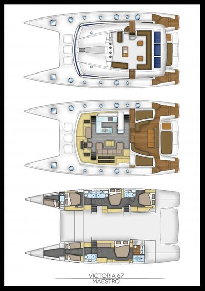 Yacht Charter MAGEC Layout