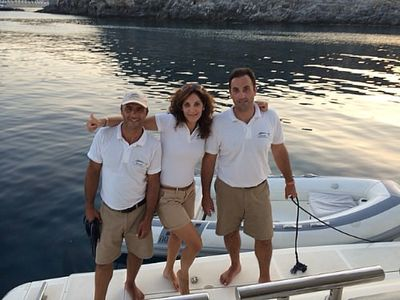 Yacht Charter MARY Crew