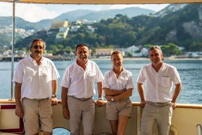 Yacht Charter DP MONITOR Crew