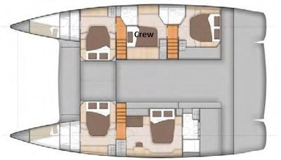 Yacht Charter AOIBH Layout