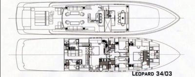 Yacht Charter WHITE PEARL Layout