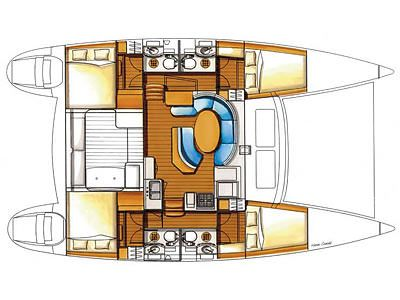 Yacht Charter ALTITUDE ADJUSTMENT Layout
