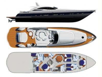 Yacht Charter CINQUE Layout