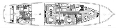 Yacht Charter ALESSANDRO Layout