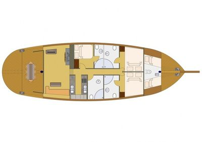 Yacht Charter KARIA Layout