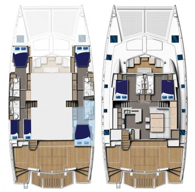 Yacht Charter THE ANNEX Layout