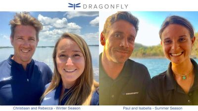 Yacht Charter DRAGONFLY Crew