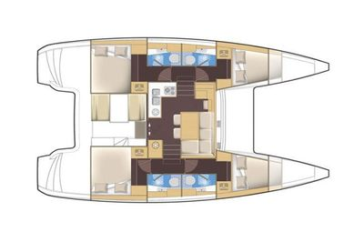 Yacht Charter GLORY DAYS Layout