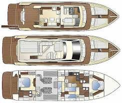 Yacht Charter TO ESCAPE Layout