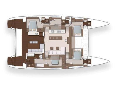 Yacht Charter JAN'S FELION Layout