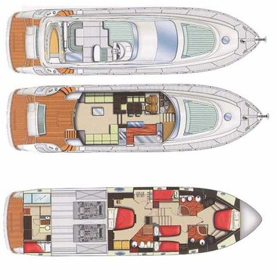 Yacht Charter MARYLIN Layout