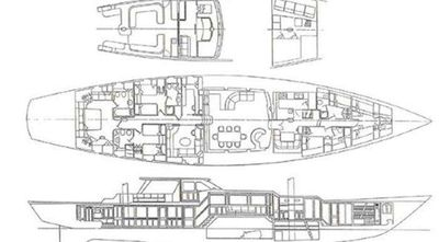 Yacht Charter AXIA Layout