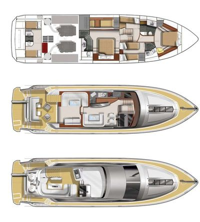 Yacht Charter Le Chiffre Layout