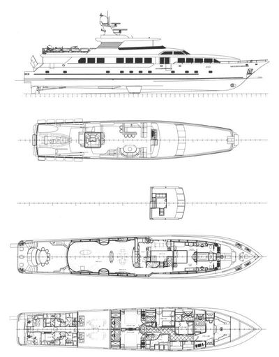 Yacht Charter SERQUE Layout