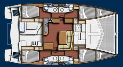 Yacht Charter Groovy Layout
